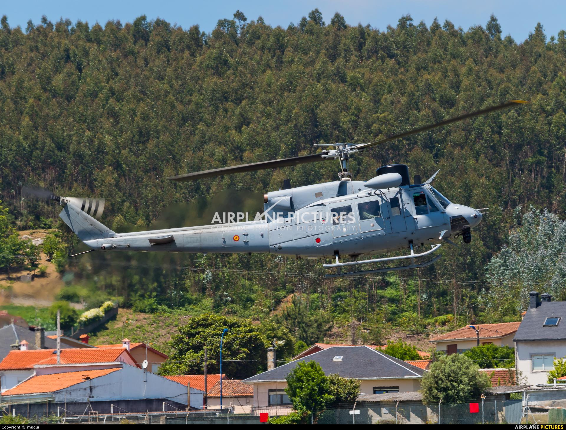 Spain - Navy HA.18-14 aircraft at La Coruña