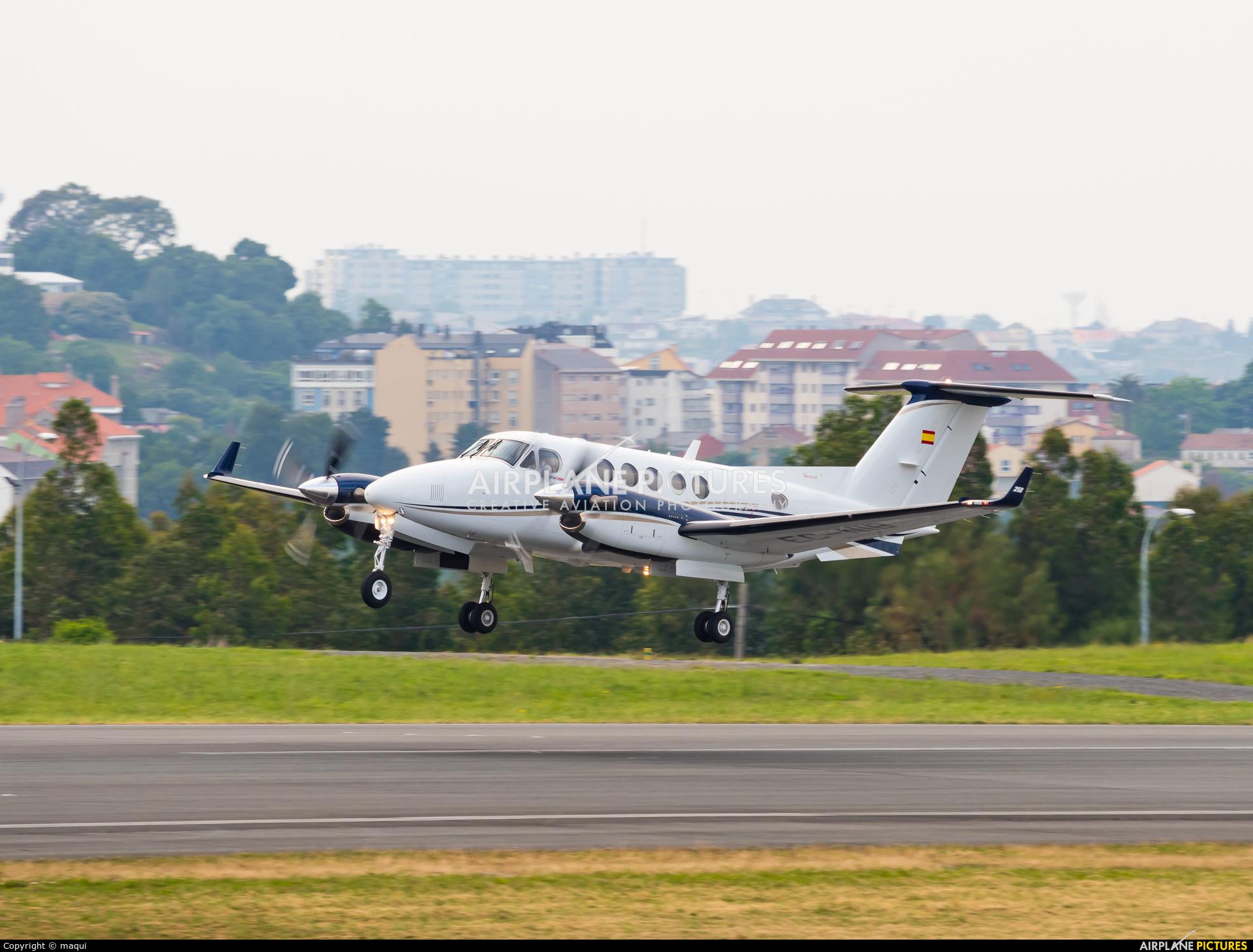 Private EC-NIB aircraft at La Coruña