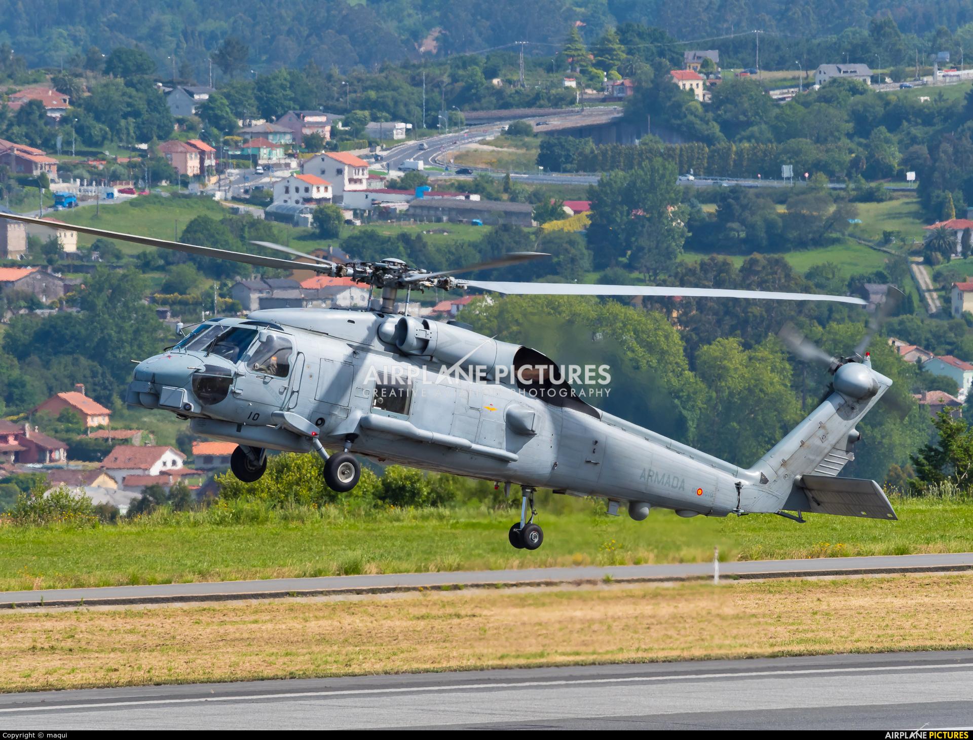 Spain - Navy HS.23-10 aircraft at La Coruña