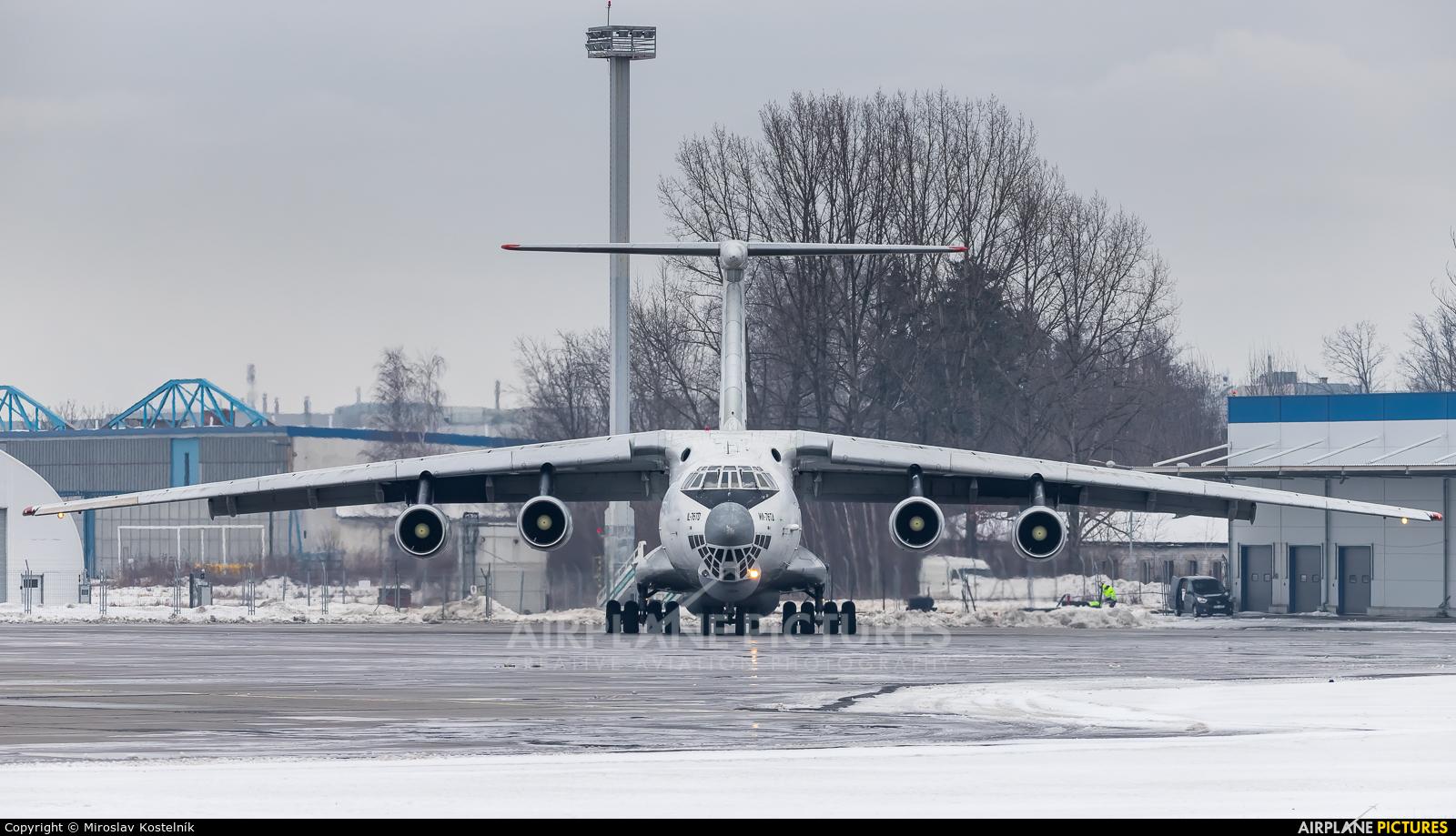 Aviacon Zitotrans RA-76502 aircraft at Ostrava Mošnov