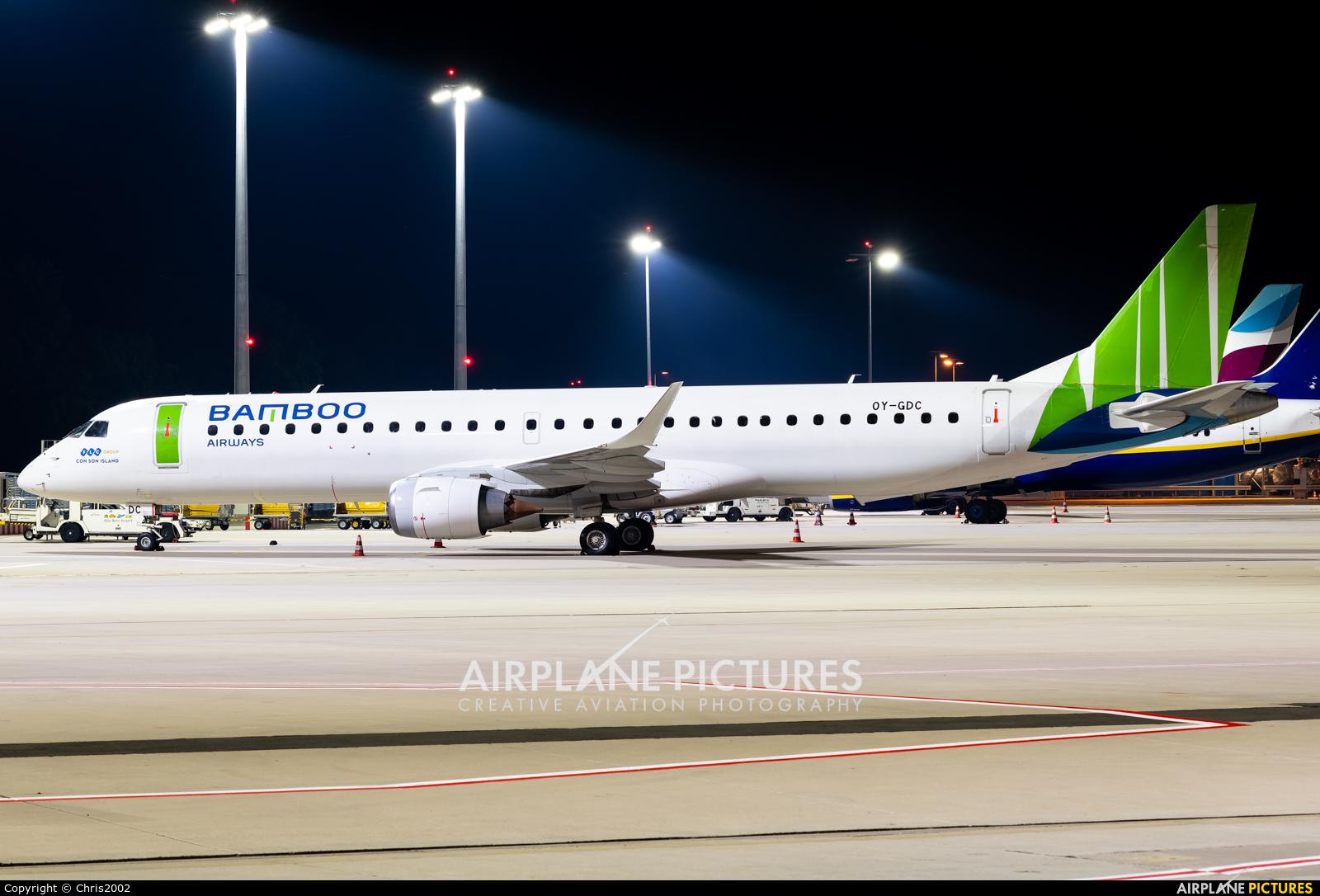Bamboo Airways OY-GDC aircraft at Cologne Bonn - Konrad Adenauer