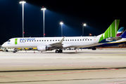 Great Dane Airlines E195 in Bamboo colours visited Cologne title=