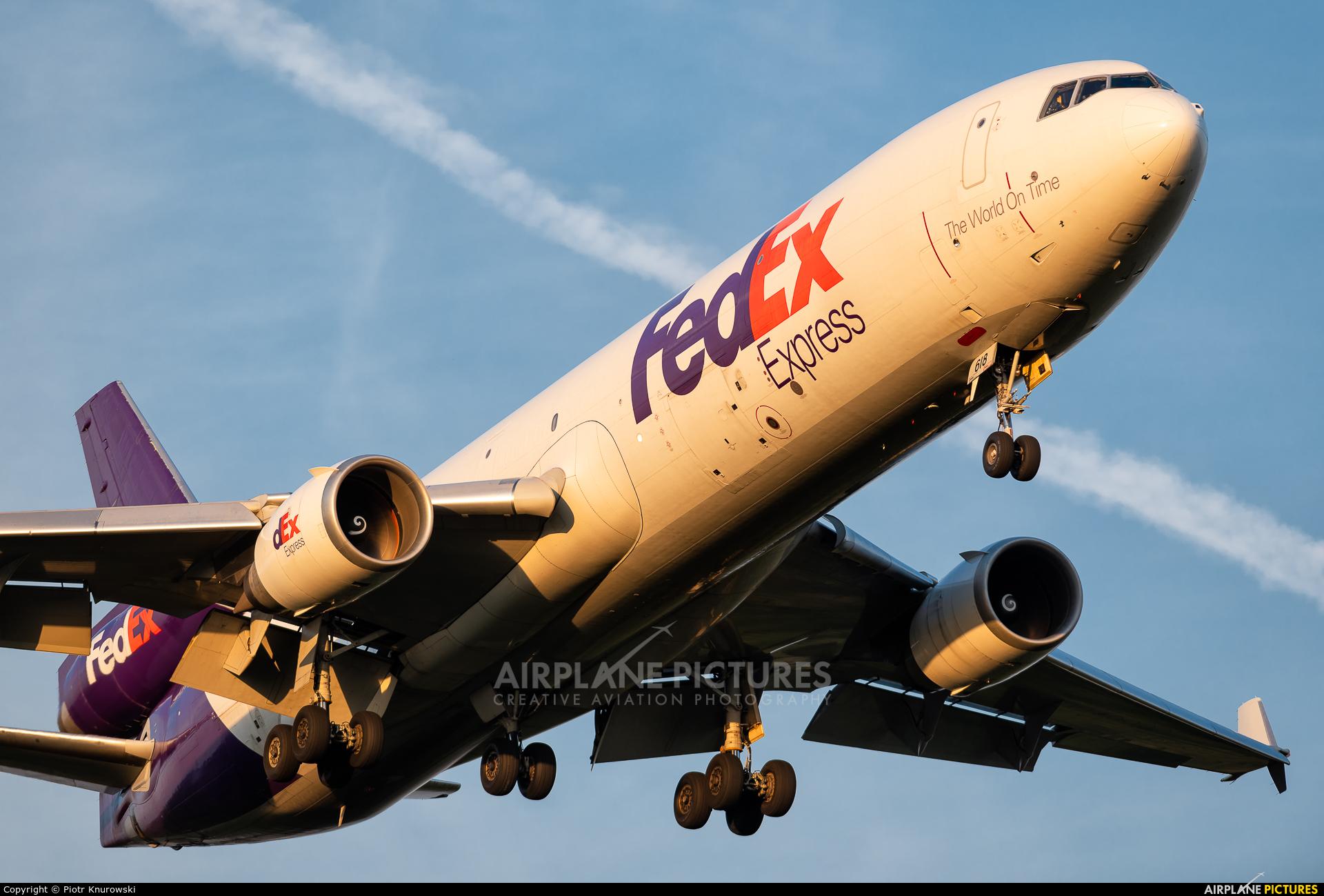 FedEx Federal Express N618FE aircraft at Frankfurt