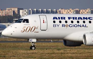 F-HBXC - Air France - Regional Embraer ERJ-170 (170-100)