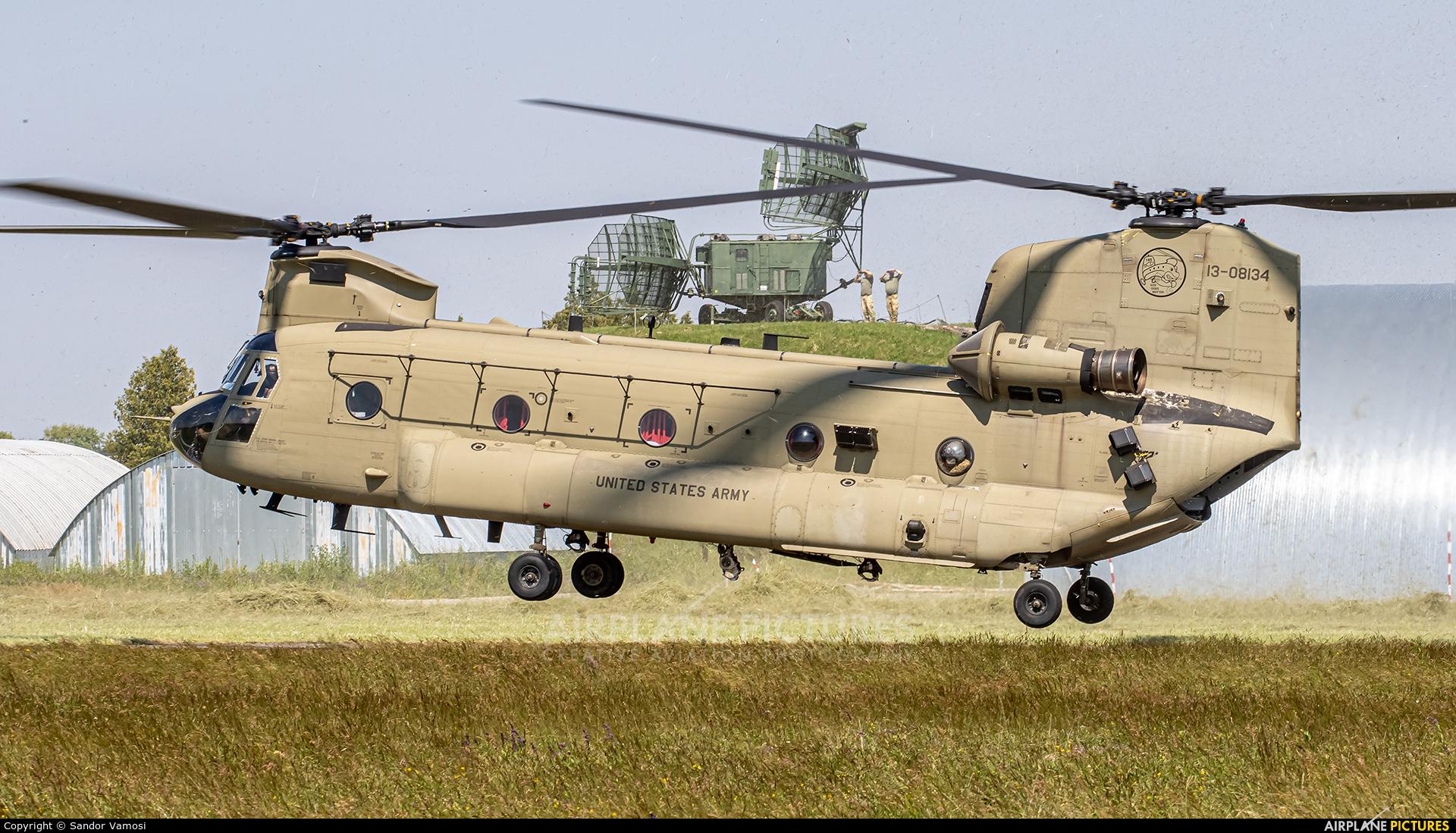 USA - Army 13-08134 aircraft at Kaposújlak