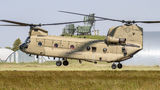 USA - Army Boeing CH-47F Chinook 13-08134 at Kaposújlak airport