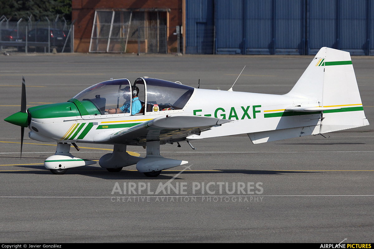Private F-GAXF aircraft at Toulouse - Blagnac