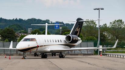 A6-SAJ - Private Bombardier Challenger 605