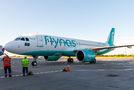 First flight of Flynas to Kyiv Borispol