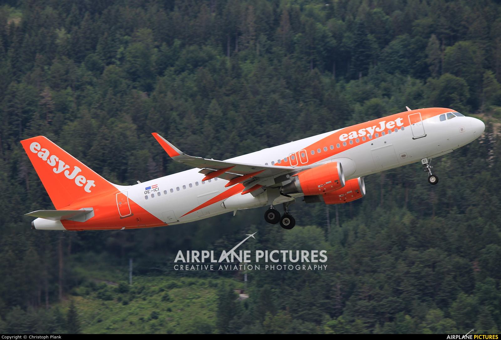 easyJet Europe OE-ICI aircraft at Innsbruck