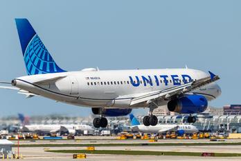 N848UA - United Airlines Airbus A319