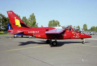 AT26 - Belgium - Air Force Dassault - Dornier Alpha Jet 1B