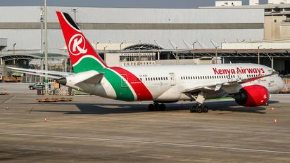 5Y-KZA - Kenya Airways Boeing 787-8 Dreamliner