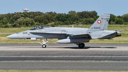 J-5020 - Switzerland - Air Force McDonnell Douglas F/A-18C Hornet