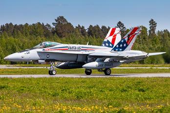165201 - USA - Marine Corps McDonnell Douglas F/A-18C Hornet
