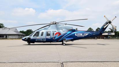 N176AM - Aero Med Spectrum Health Sikorsky S-76C