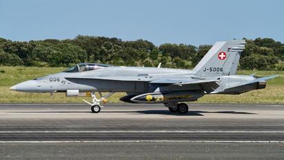 J-5006 - Switzerland - Air Force McDonnell Douglas F/A-18A Hornet