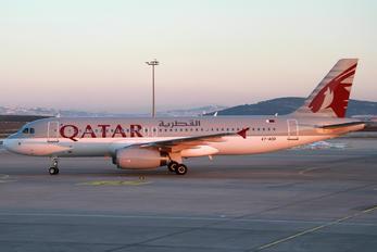 A7-ADD - Qatar Airways Airbus A320