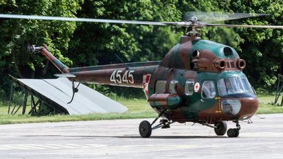 4545 - Poland - Air Force Mil Mi-2