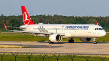 TC-LSS - Turkish Airlines Airbus A321 NEO aircraft