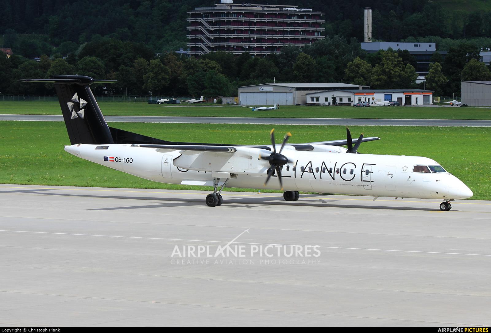 Austrian Airlines/Arrows/Tyrolean OE-LGO aircraft at Innsbruck