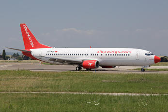 ZA-ALC - Albawings Boeing 737-4Q8