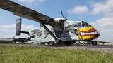 Pink Aviation Short SC.7 Skyvan OE-FDN at Herning Flyveplads airport