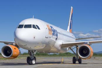 YR-BEE - HiSky Airbus A320