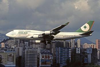 N408EV - Eva Air Boeing 747-400