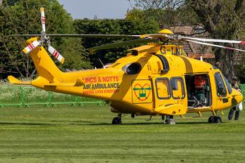 G-LNAC - Lincolnshire & Nottinghamshire Air Ambulance Agusta Westland AW169