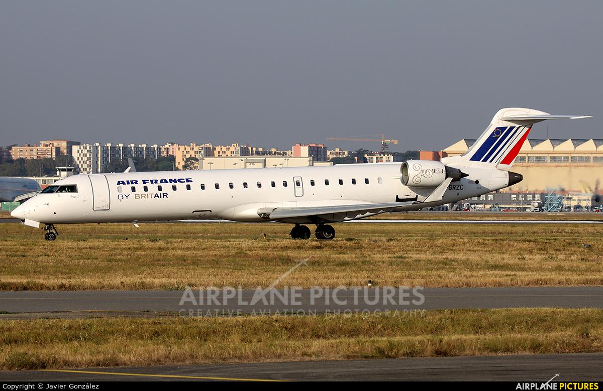 Air France - Brit Air F-GRZC aircraft at Toulouse - Blagnac
