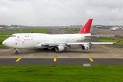 Rare visit of Ruby Star 747 at Mumbai title=