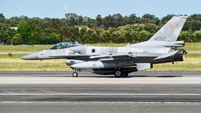 4062 - Poland - Air Force Lockheed Martin F-16C block 52+ Jastrząb