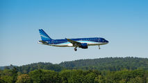 First visit of Azerbaijat Airlines A320 at Zurich title=