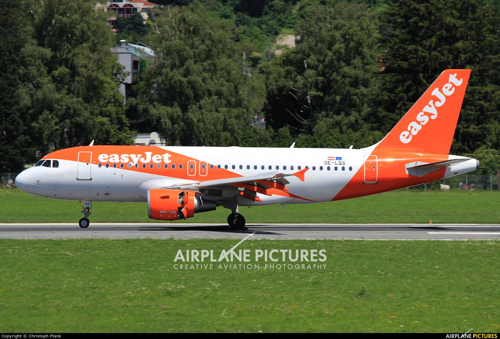 easyJet Europe OE-LQS aircraft at Innsbruck
