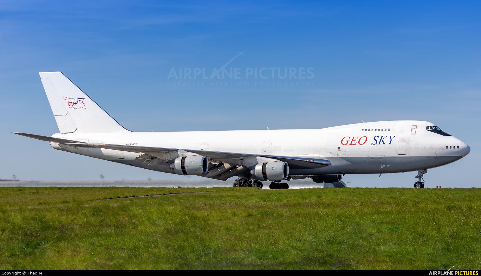 Geo-Sky 4L-GEO aircraft at Paris - Charles de Gaulle