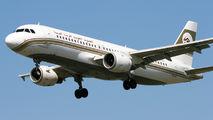TS-INJ - Libyan Arab Airlines Airbus A320 aircraft