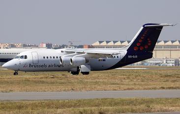 OO-DJS - Brussels Airlines British Aerospace BAe 146-200/Avro RJ85
