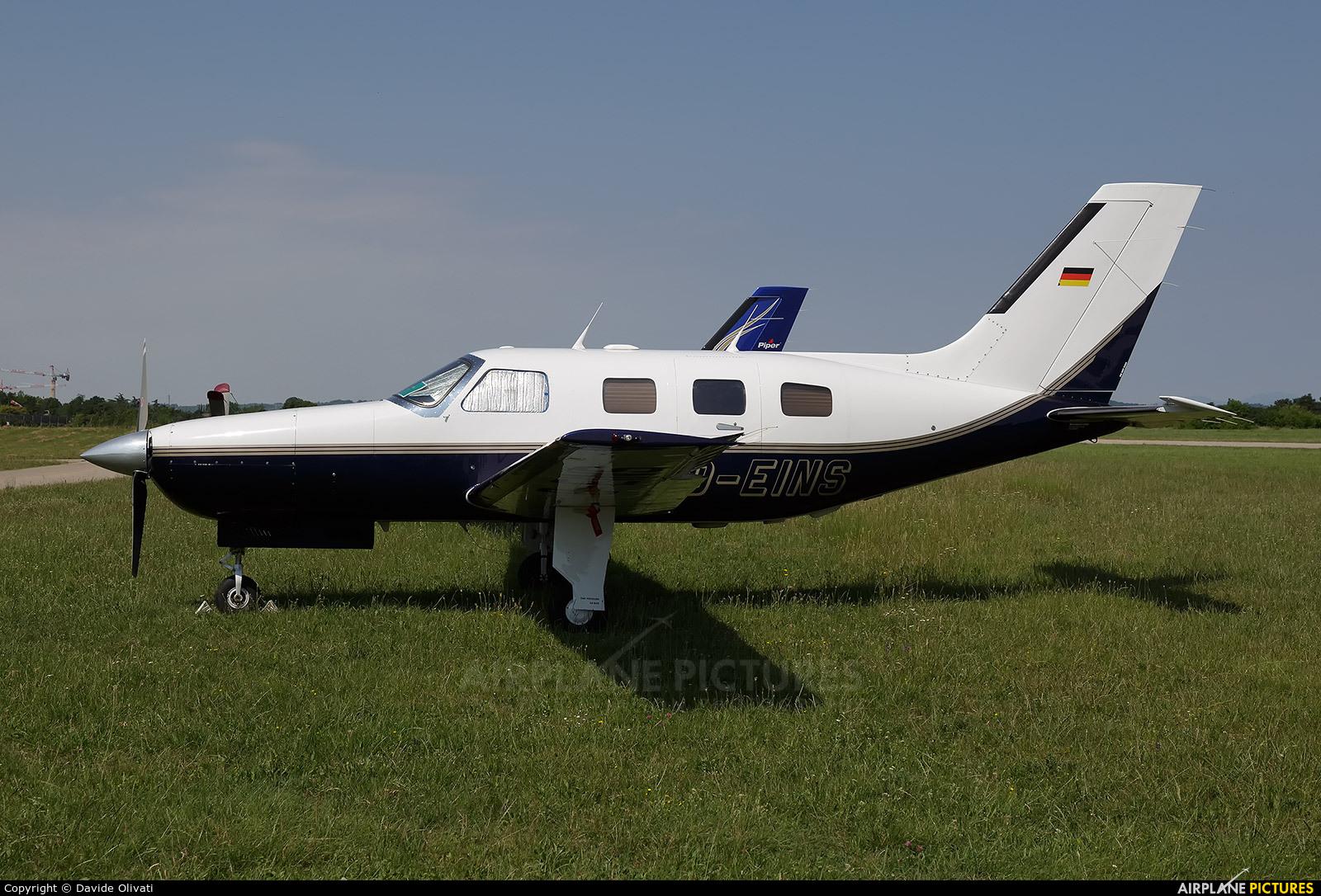 Private D-EINS aircraft at Verona - Boscomantico
