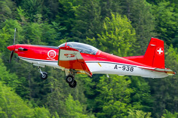 A-938 - Switzerland - Air Force: PC-7 Team Pilatus PC-7 I & II