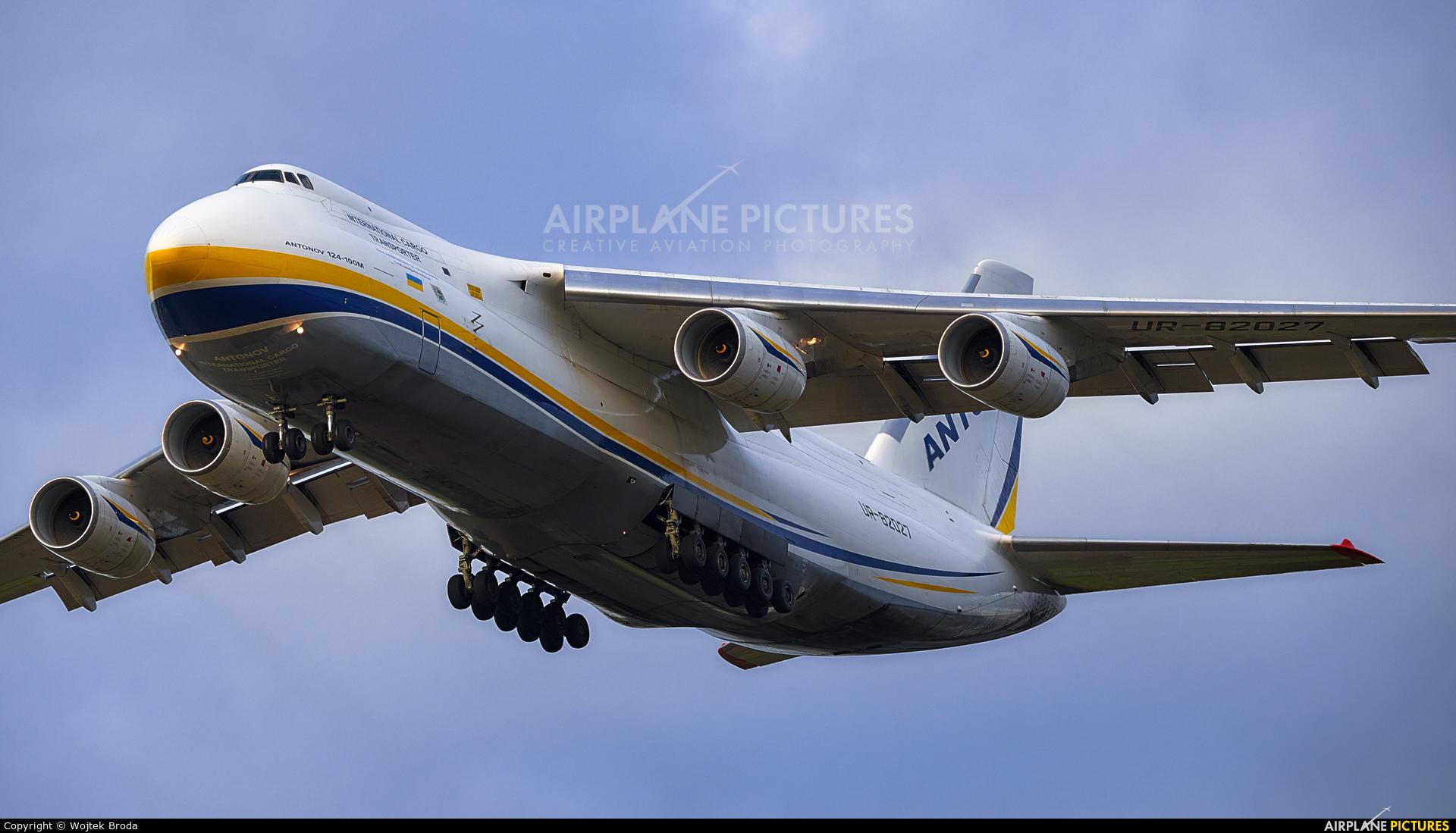 Antonov Airlines /  Design Bureau UR-82027 aircraft at Wrocław - Copernicus