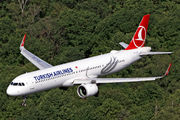 TC-LSO - Turkish Airlines Airbus A321 NEO aircraft