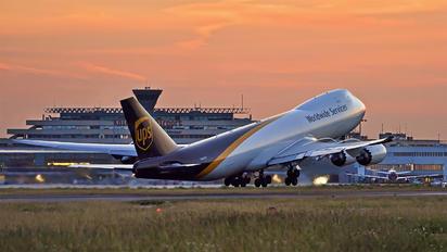N612UP - UPS - United Parcel Service Boeing 747-8F