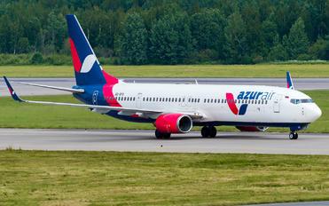 VQ-BYX - AzurAir Boeing 737-900