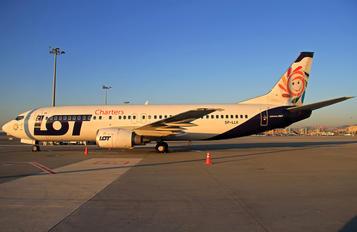 SP-LLK - LOT Charters Boeing 737-400