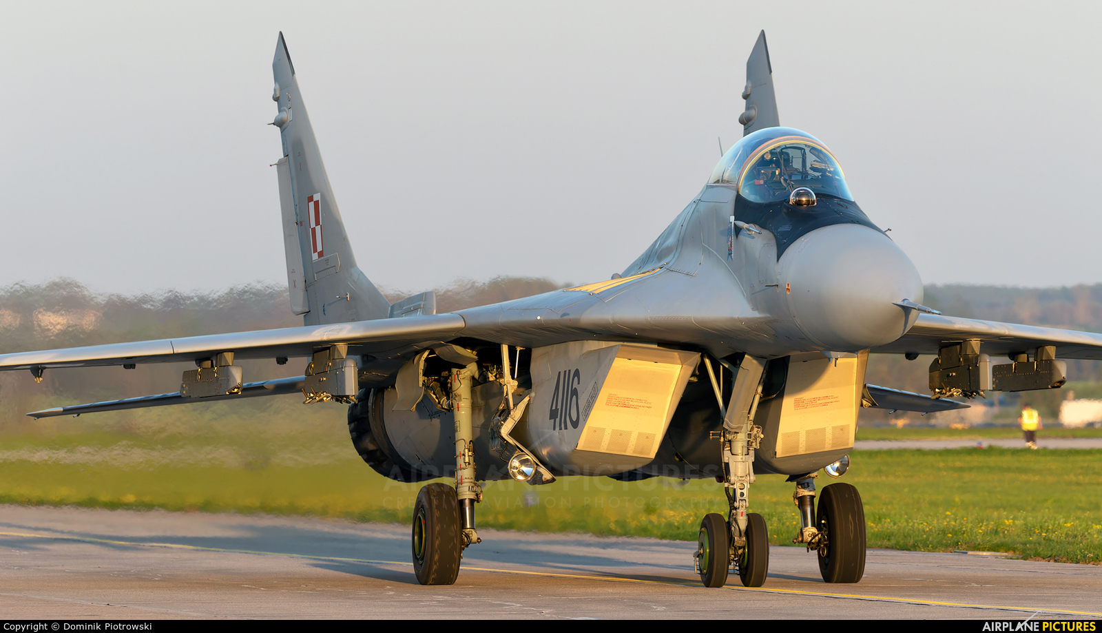 Poland - Air Force 4116 aircraft at Świdwin