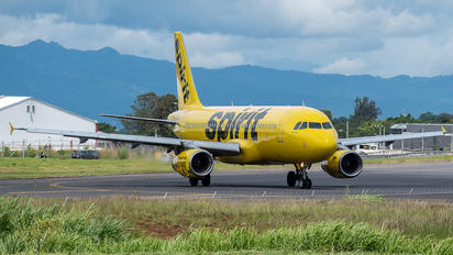 N617NK - Spirit Airlines Airbus A320