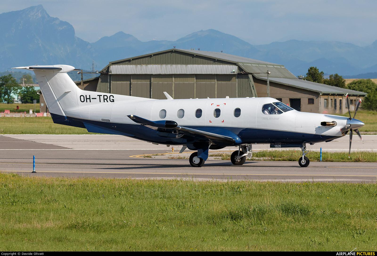 FLY 7 Executive Aviation SA OH-TRG aircraft at Verona - Villafranca