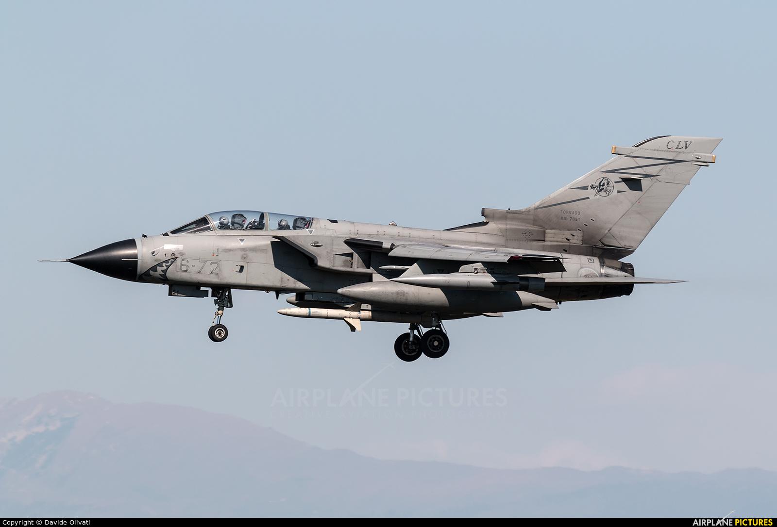 Italy - Air Force MM7051 aircraft at Ghedi