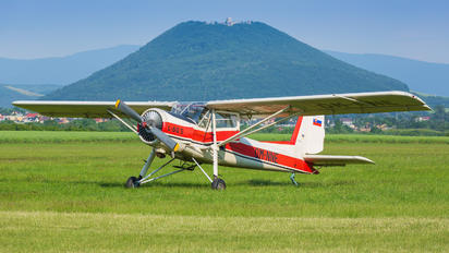 OM-NNE - Aeroklub Prešov Aero L-60S Brigadýr